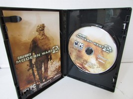 PC GAME WINDOWS CALL OF DUTY 2 MODERN WARFARE CASE DISC & MANUAL ACTIVIS... - $6.95