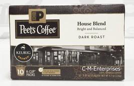 Peets Coffee House Blend Coffee K Cup Cups Keurig Peet's - $13.95