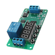 DC 12V CE030 Multifunction Self-lock Relay PLC Cycle Delay Timer Control... - $10.80
