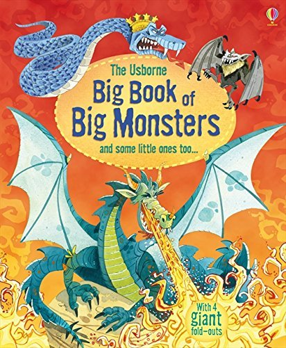 Big Book of Big Monsters (Big Books of Big Things) [Hardcover] Louie Stowell