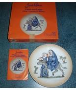 Goebel 1st LE Handpainted Plate Janet Robson Flight into Egypt Joseph Ma... - $12.21