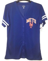 NWT MLB Women New York METS Jersey Style Shirt Dry fit  *S-L - $16.99