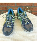 Asics Gel-Kahana 7 Tennis Shoes Size 8 Speva Duomax Blue Yellow Trainers... - $19.80