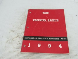 1994 Ford Taurus Mercury Sable Transacle Auto AX4N Service Shop Repair M... - $13.81
