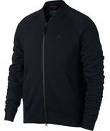 Nike Men's Jordan Wings Fleece Bomber Jacket NEW AUTHENTIC Black 883987-010 - $79.49