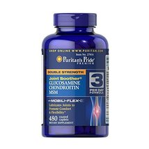 Puritan's Pride Double Strength Glucosamine, Chondroitin & MSM Joint Soo... - $43.95
