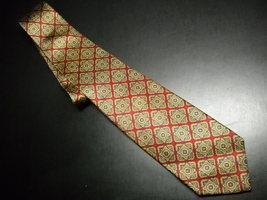Robert Talbott Best Of Class Neck Tie Silk Hand Sewn Soft Browns Golds a... - $14.99