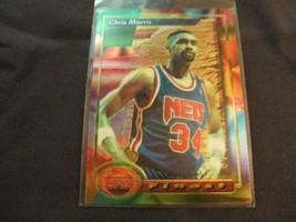 1993-94 Topps Finest  #48 Chris Morris -New Jersey Nets- - $3.12