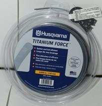 Husqvarna 596780201 Titanium Force Trimmer Line Grey 200 feet .095 Size - $19.99