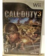 Call of Duty 3 Nintendo Wii  2006 - $5.91