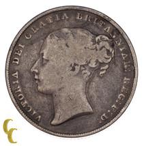 1839 Gran Bretagna Scellini Moneta D'Argento in Buone Condizioni, Km #734.1 - $88.64