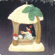 Mele Kalikimaka Windows of the World 3rd in Series 1987 Hallmark Ornamen... - $19.99