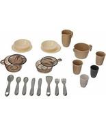 22pcs Mixed Pretend Play Cooking Dinning Pot Pan Dish Play Preschool Toy... - $41.02