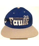Marshall Faulk #28 NFL AFC Indianapolis Colts Adult Unisex Blue Cap One ... - $39.59