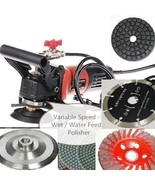 Wet Polisher Grinder Cutter Lapidary Saw pad 42+1 Marble Slate Granite C... - $173.24