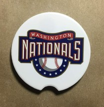 WASHINGTON NATIONALS SET 2 Car Coaster Sandstone absorbent washable cup ... - $15.00