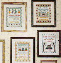 CROSS STITCH MINI COUNTRY SAMPLERS #3 CANTERBURY - $5.00