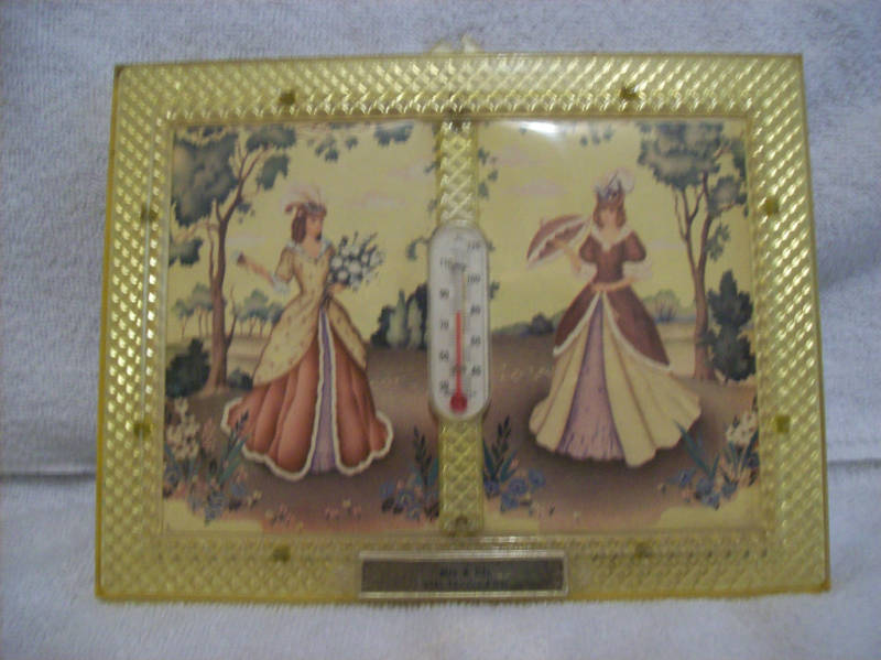 Vintage Framed Advertising Thermometer