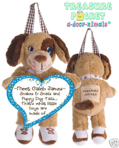 PuppyTreasure Pocket Keepsake a-door-nimal