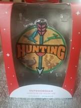 Hunting Outdoorsman Christmas Ornament upc 064319284834 - $39.48