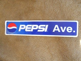 Great Collectible Tin Sign-........... PEPSI AVE.  ............ FREE POS... - $22.36