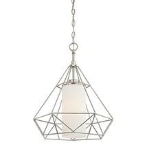 Westinghouse Lighting 6324500 One-Light Indoor Pendant, Brushed Nickel Finish wi - $168.22