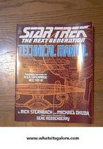 Star Trek the Next Generation TECHNICAL MANUAL st-tng sttng + bookmark+c... - $10.00