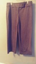womens Ann Taylor Loft petites charcoal gray 12p dress pants DRH255 - $15.65