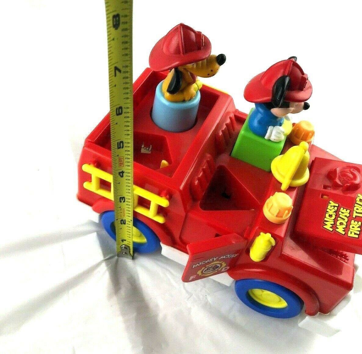 AS IS Vintage Mickey Mouse Fire Truck Toy