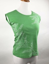 Tommy Hilfiger Women's Sleeveless Pullover Scoop Neckline Green Size L Ec - $12.86