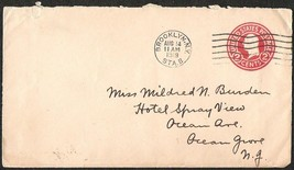 1919 US BROOKLYN N.Y. 2 CENTS POSTAGE USED PREPAID COVER - $2.99