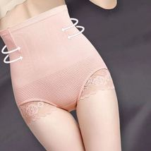 Pink Slimming Belly Control Panties Postnatal Body Shaper Corset Briefs ... - $31.70