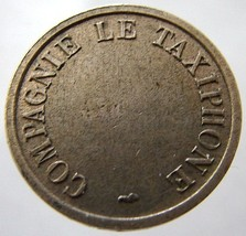 1950s FRANCE TELEPHONE TOKEN Rare Taxi Phone jetton Token - $4.99