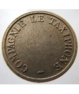 1950s FRANCE TELEPHONE TOKEN Rare Taxi Phone jetton Token - ₨324.46 INR