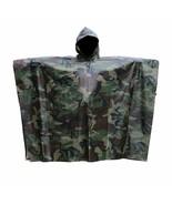 Wasserdicht Camouflage Poncho für Regenschutz Regenjacke Jagd Angeln Wan... - $177.74