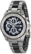 "Pre-owned Invicta Men's 1248 ""Pro Diver"" Stainless/Ceramic Band Chronograph Watc - $188.05"