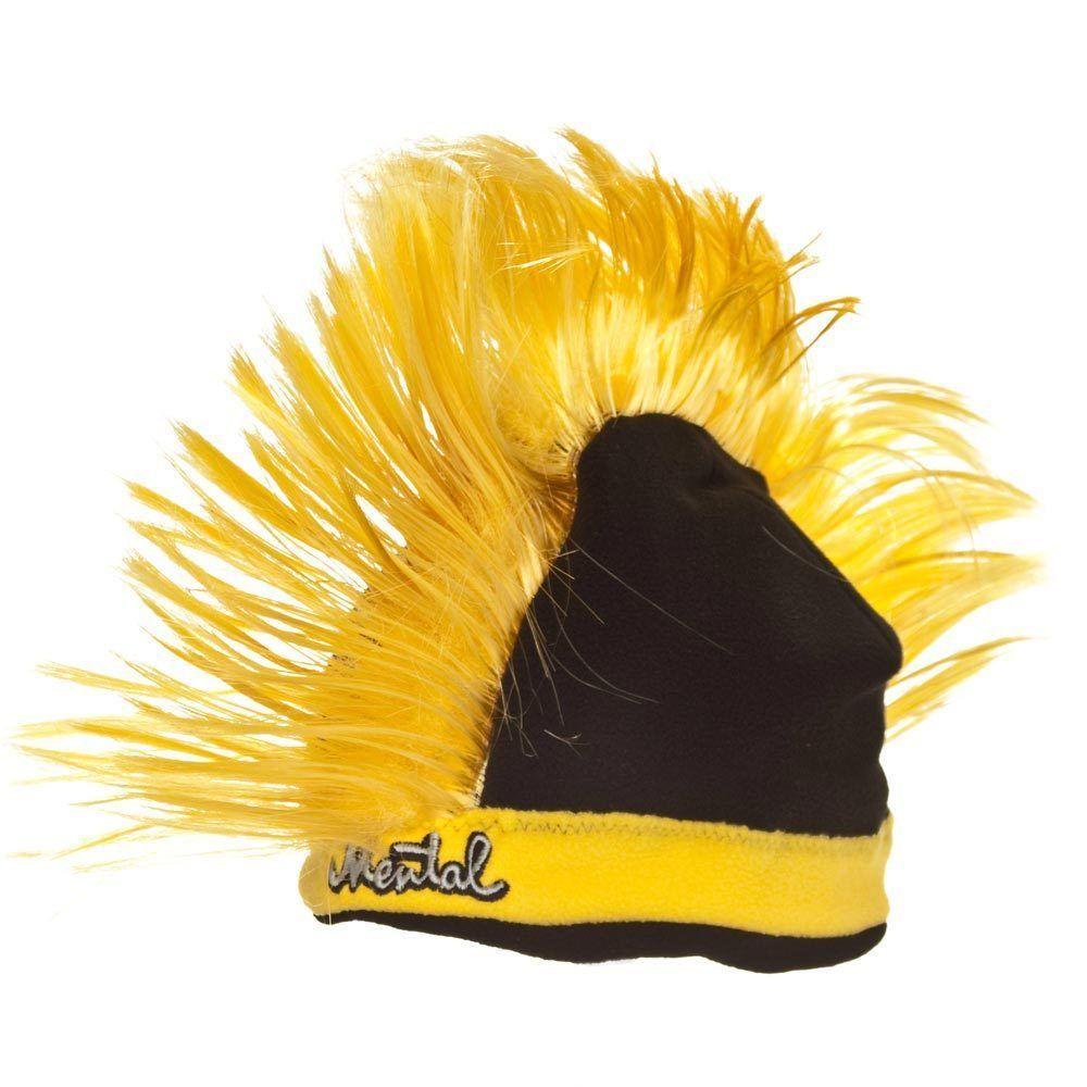 e9b354461f5f7 Mental Razor Yellow Mohawk Ski Snowboard and 50 similar items. S l1600
