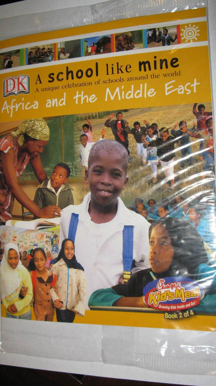 Chick Fil A Booklet A School Like Mine Celebrating Schools Africa  Middle East
