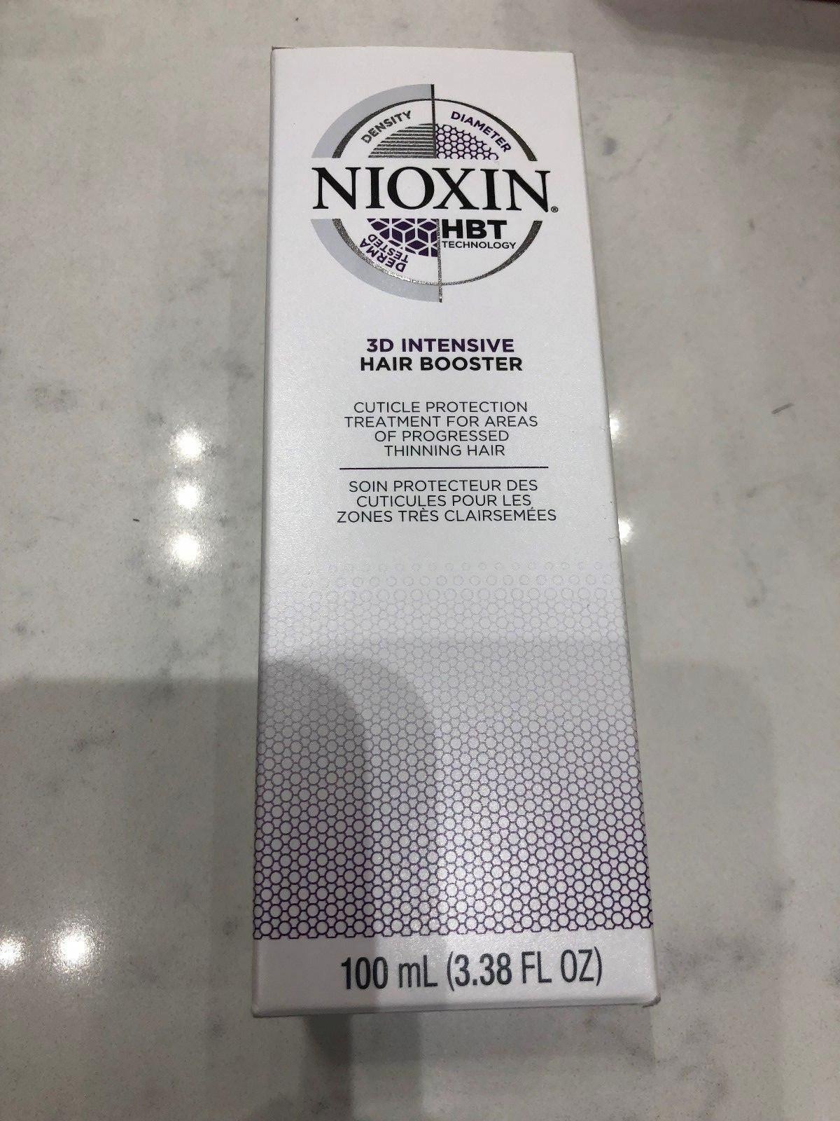 NIOXIN 3D Intensive Hair Booster 3.38oz