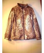 Hawke&Co. light weight leopard print jacket Size Medium - $27.98