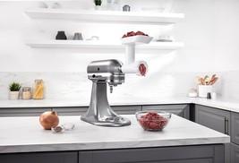 KitchenAid STAND MIXER WHITE FGA Food Grinder Attachment w/2 PLATE &1 PU... - $144.90