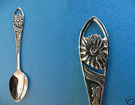KANSAS Souvenir Collector Spoon Collectible STATE SUNFLOWER  - $3.95