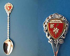 QUEBEC Souvenir Collector Spoon Collectible Whi... - $5.95