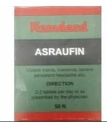 Asraufin hamdard Herbal Remedy for Severe Persistent Headache - 50 Tablets - $13.70