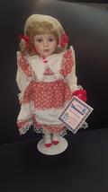 1998 Vanessa Ricardi Porcelain Doll in Original Packaging - $14.99