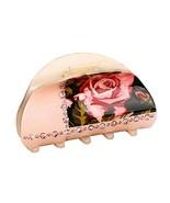 [Rose Pink] Fashion Shining Hair Claws Hair Barrettes Claw Clips #01 - $18.07