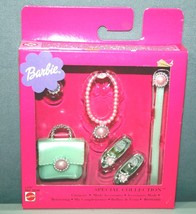 NEW 2001 Mattel Barbie Special Collection Pearly Jewelry Set Internation... - $12.86