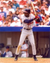 DEION SANDERS 8X10 PHOTO ATLANTA BRAVES BASEBALL PICTURE MLB - $3.95
