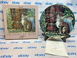 """Lowell Davis 8 1/2"""" Collector Plate """"Sunday Afternoon Treat"""" Schmid 1989... - $98.98"""