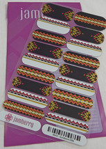 Jamberry Sundance 0916 66A3 Heat Activated Nail Wrap Full Sheet - $15.14